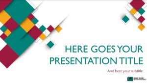 Accessible Presentation Template Option