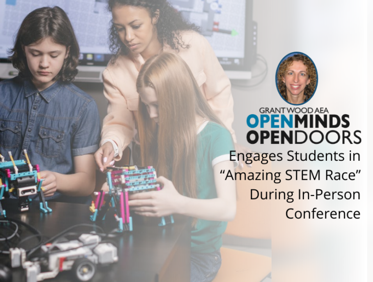 """Open Minds, Open Doors Engages Students in """"Amazing STEM Race"""" During In-Person Conference"""